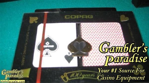 Copag Plastic Cards Dbl Deck Slot Machines For Sale