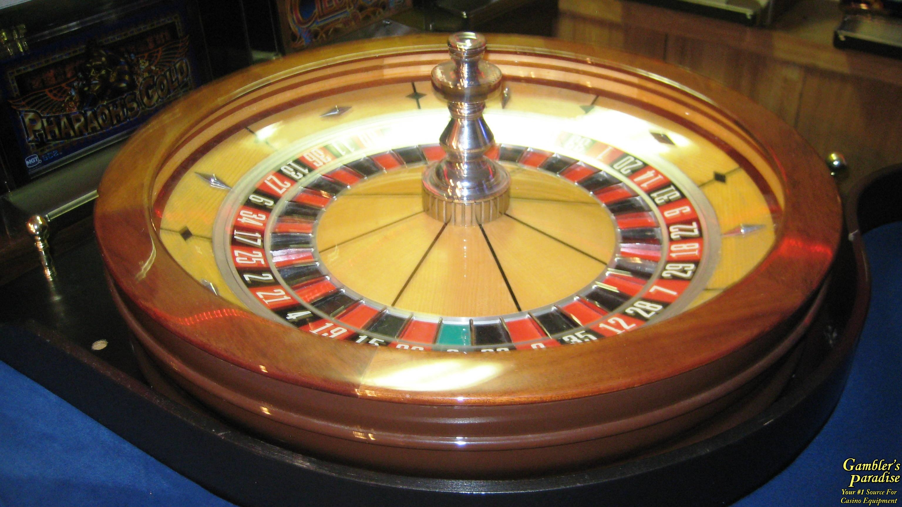 Rigged roulette wheel for sale