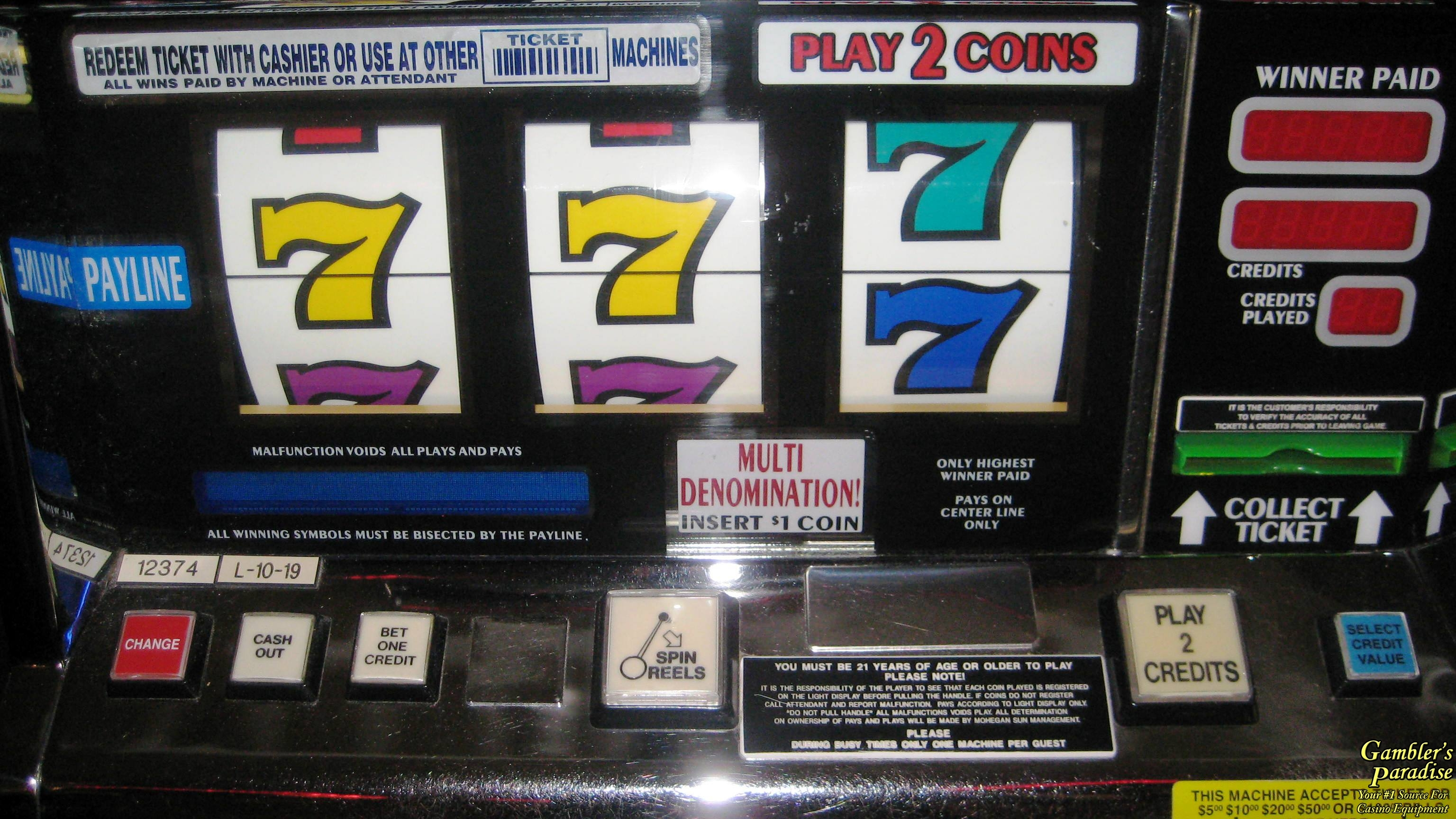 7 slot machine