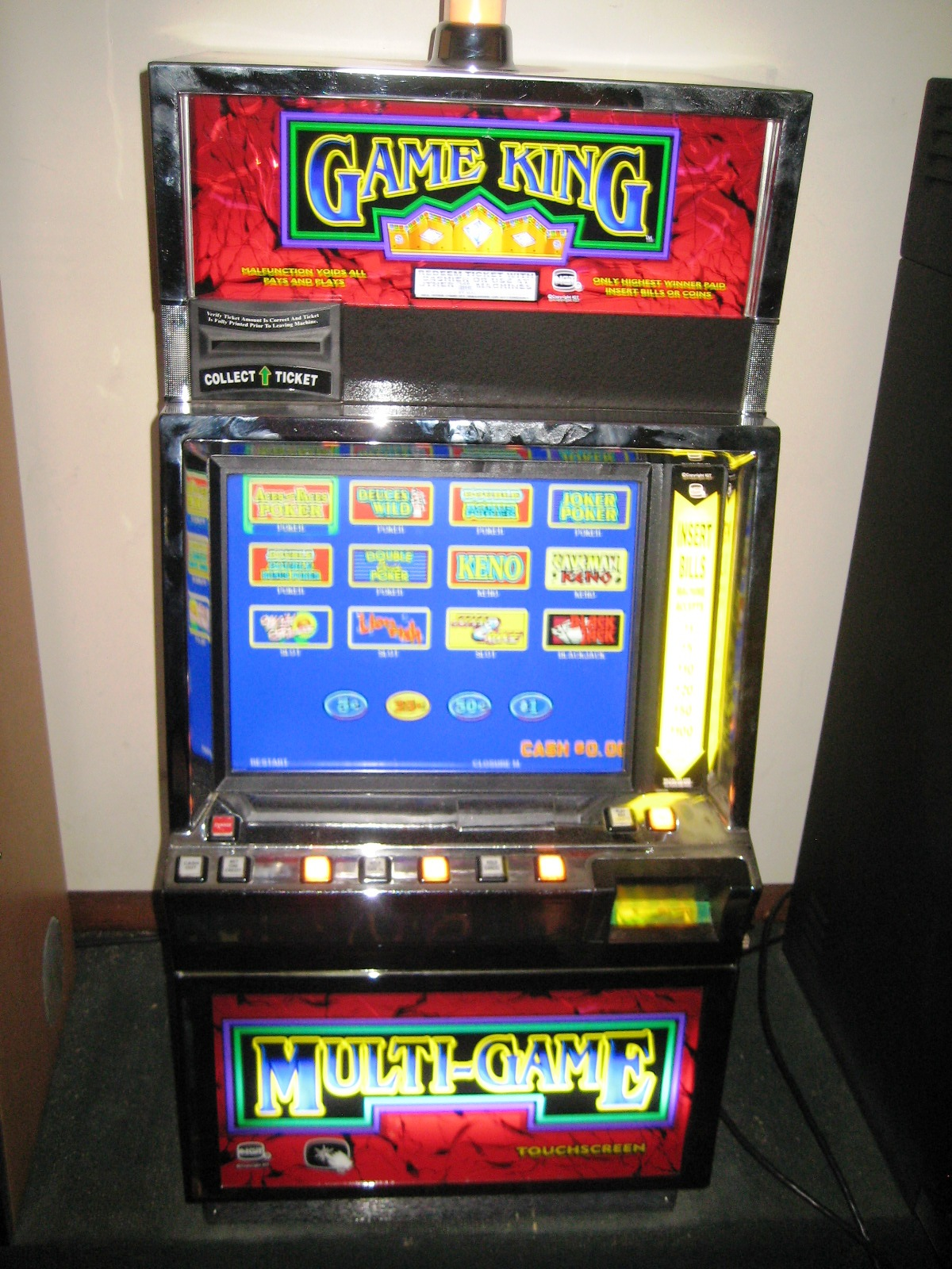 IGT Game King Multi-Game Video Poker 17″LCD