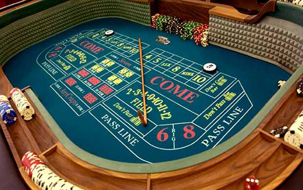 casino crap table