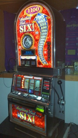 IGT Barcrest Any Thing But Six Bonus Slot Machine