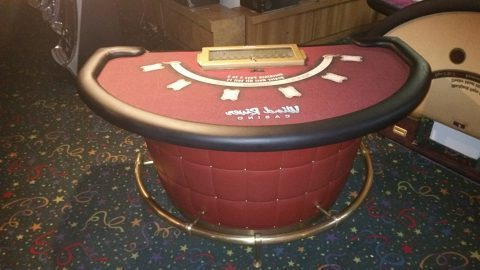 Casino Blackjack Table Complete