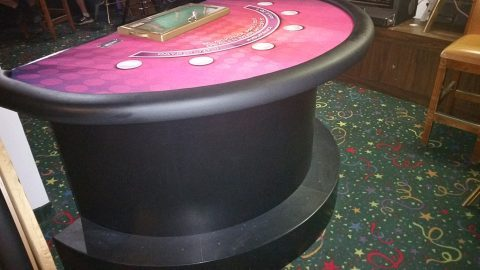 Casino Blackjack Table Designer Lay-Out Compltete