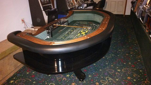 Casino Craps Table 9′ Authentic Original Lay-Out