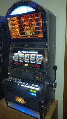 Bally Alpha Golden Bell Quick Hit Progressive Bonus Slot Machine