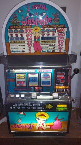 IGT S2000 I Dream of Jeanie Slot Machine