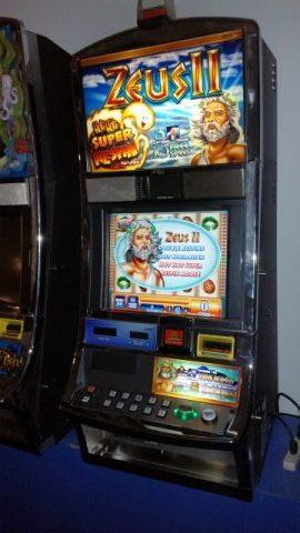 WMS Blue Bird Zeus II HOT HOT SUPER RE-SPIN Video Bonus Game