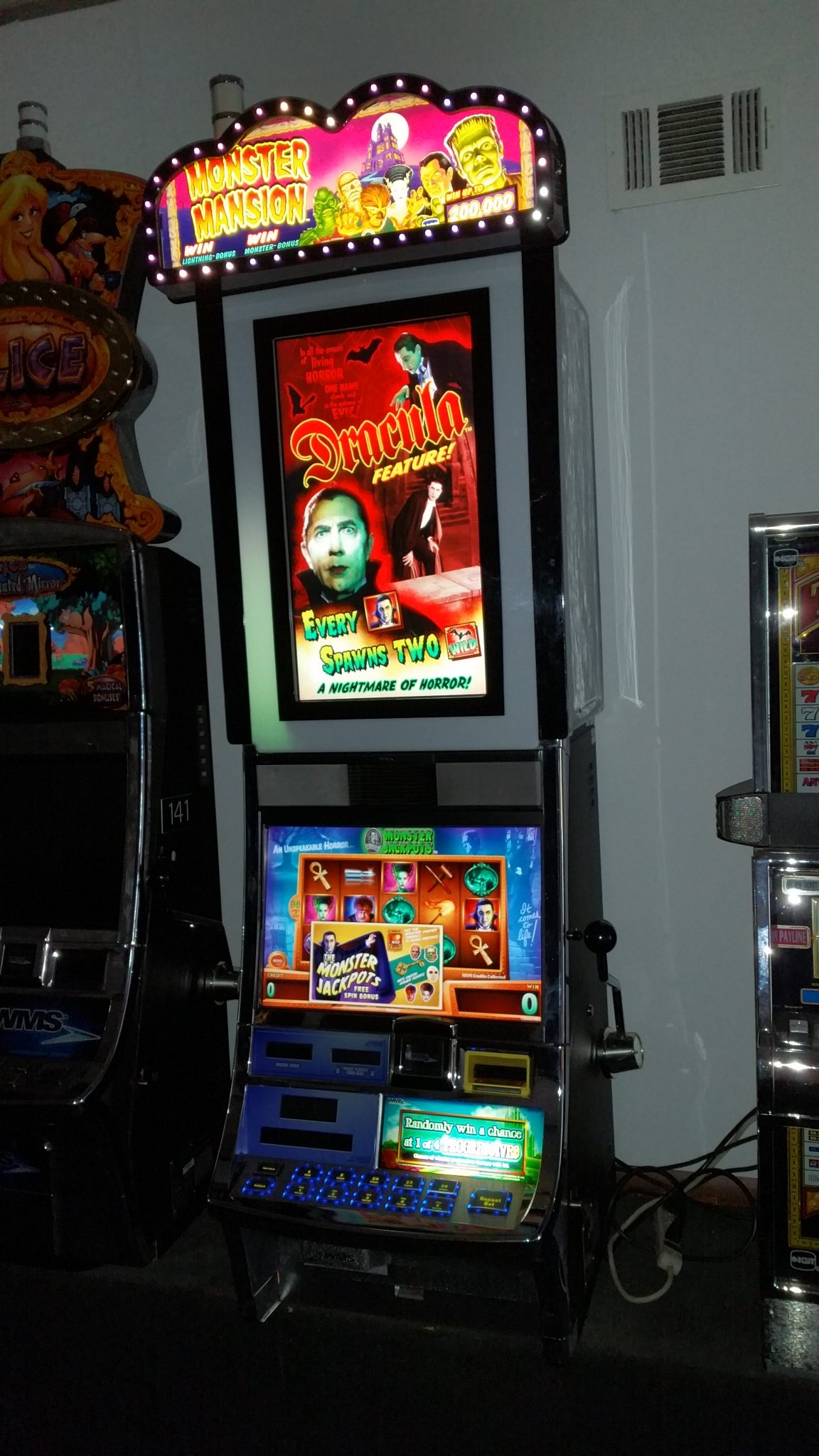 wms slot machines for sale
