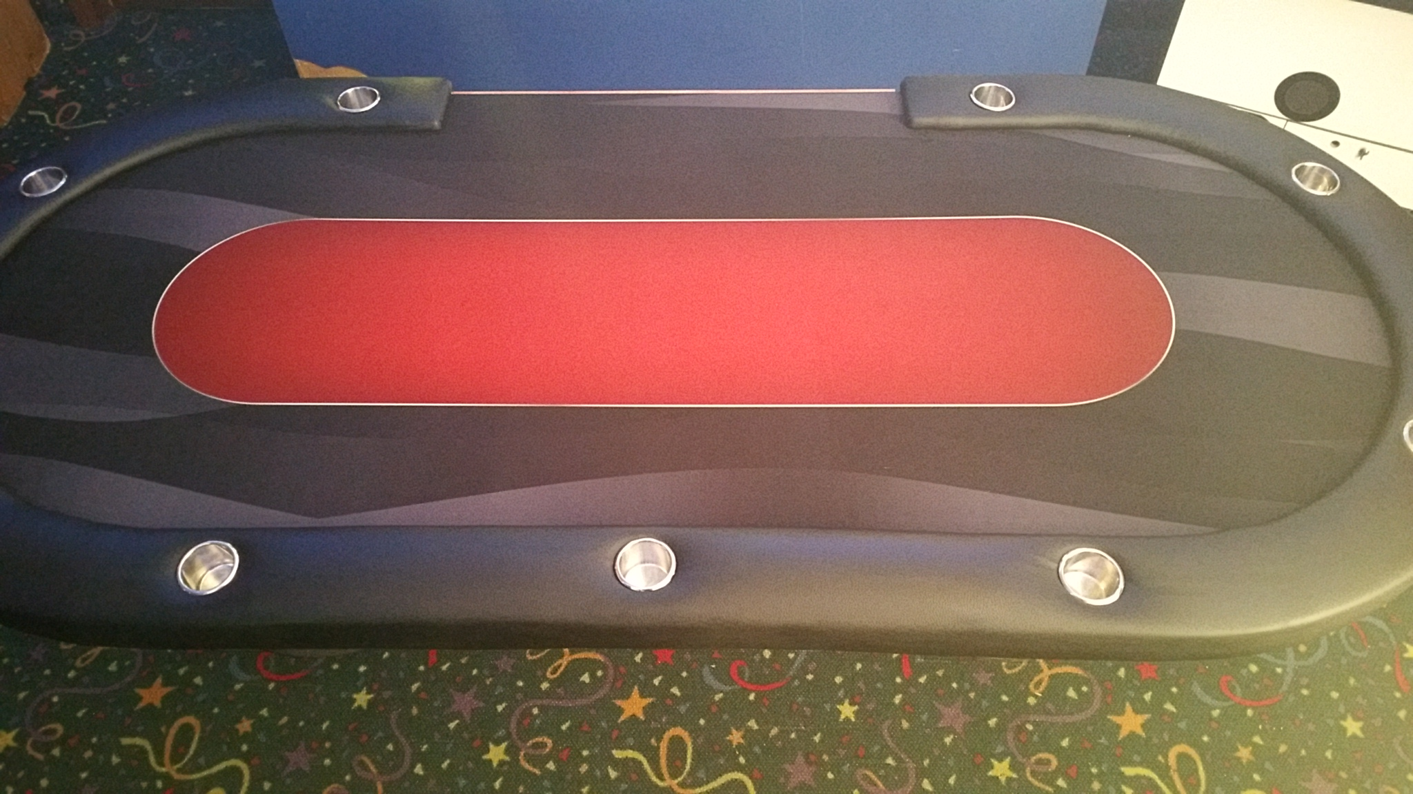 Used Casino Poker Tables 7′, 8′, and 9 Foot with Padded Rail