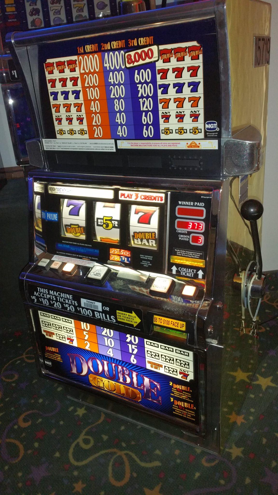 IGT S2000 Double Gold Multi-denominational Slot Machine