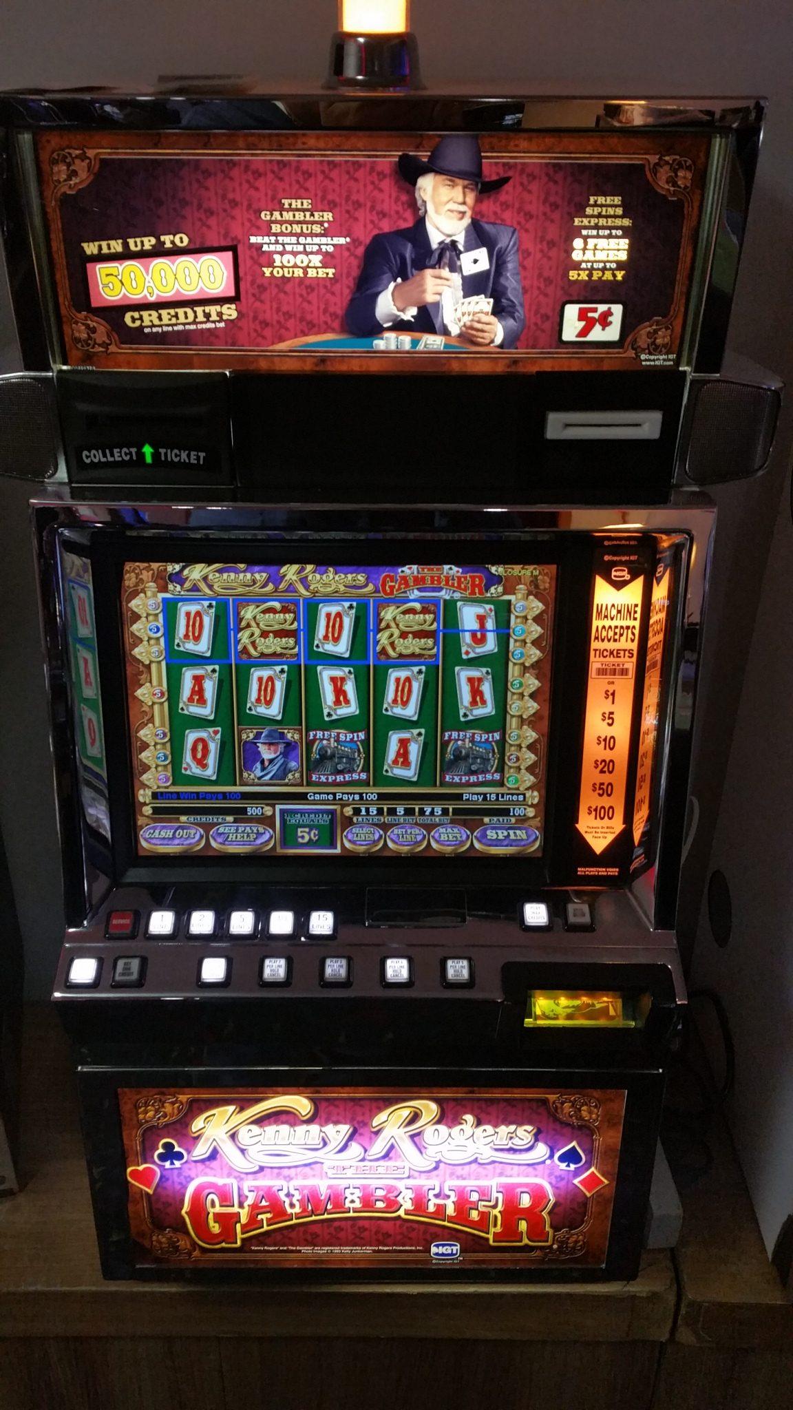 Online slot machines with bonus rounds