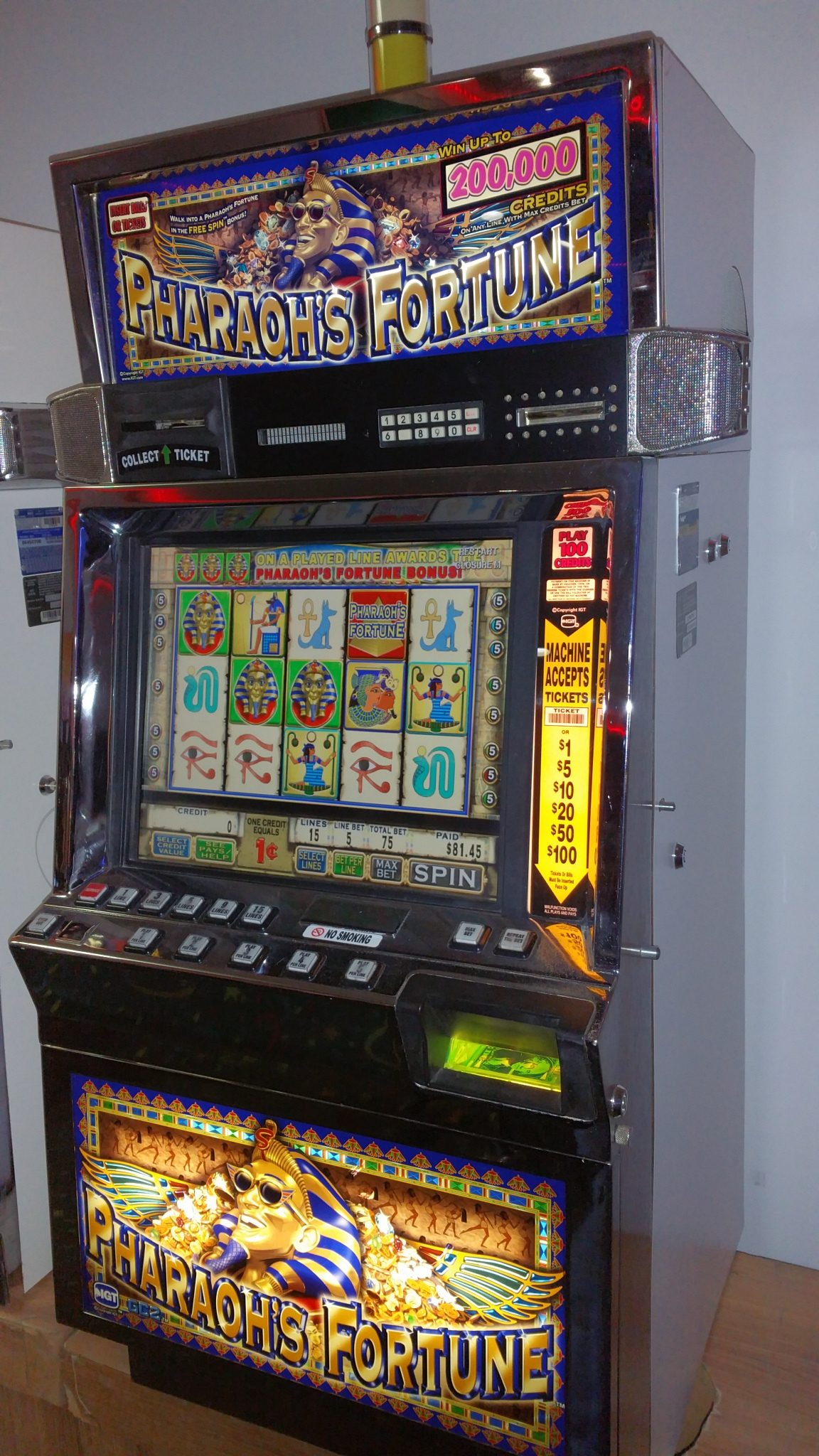 slot machine sale