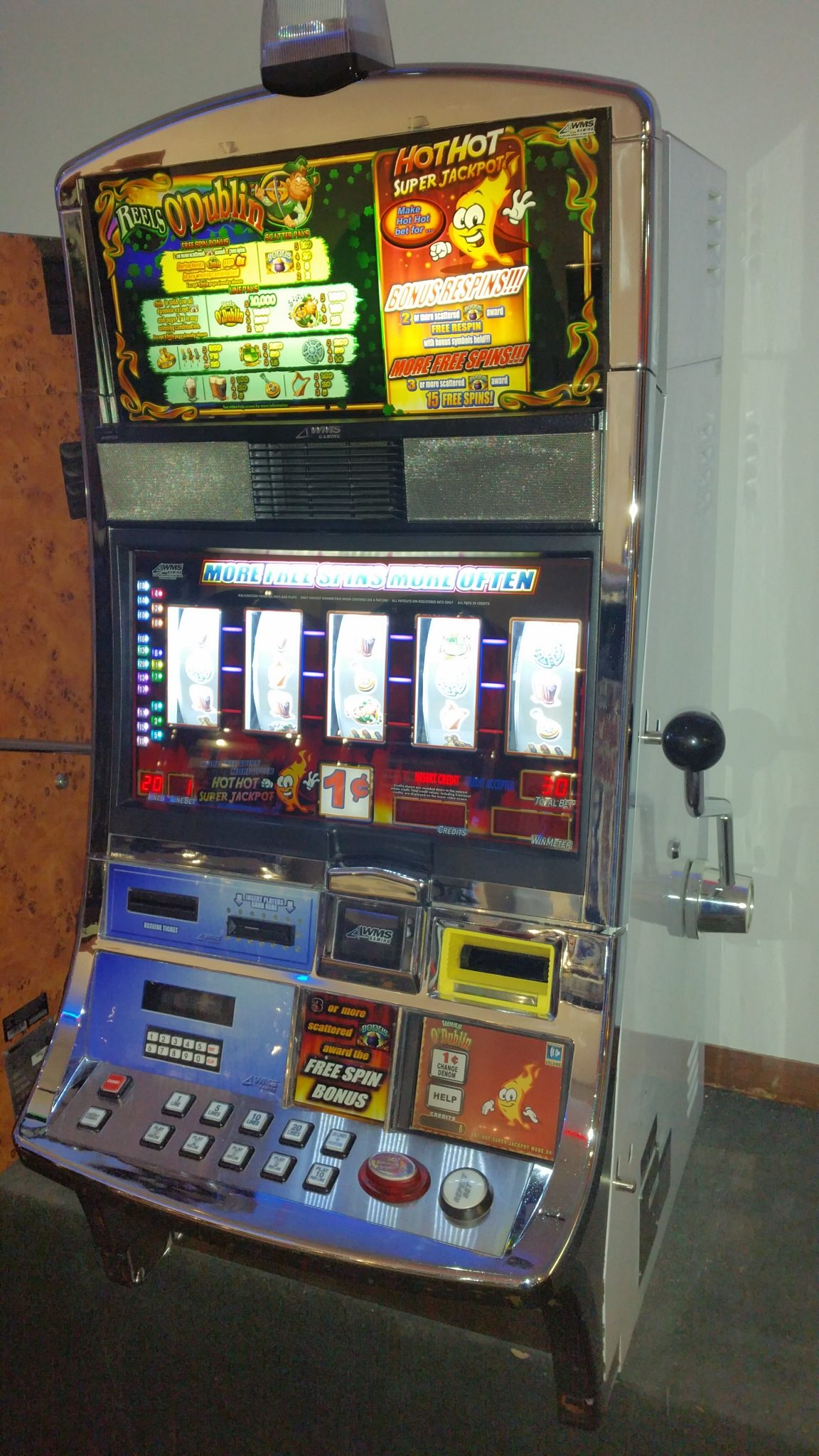 casino video slot machines for sale