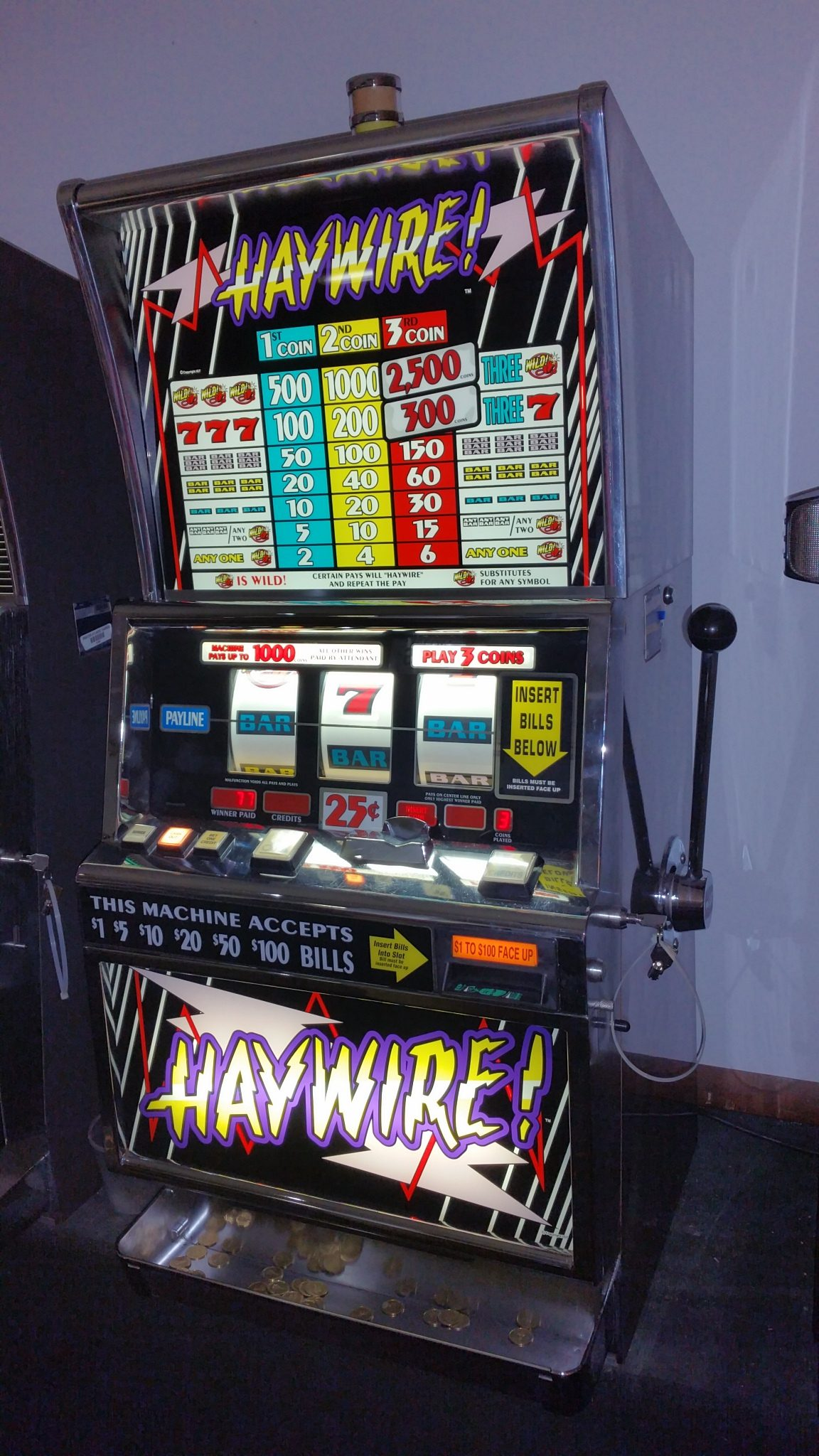 slot machine for home