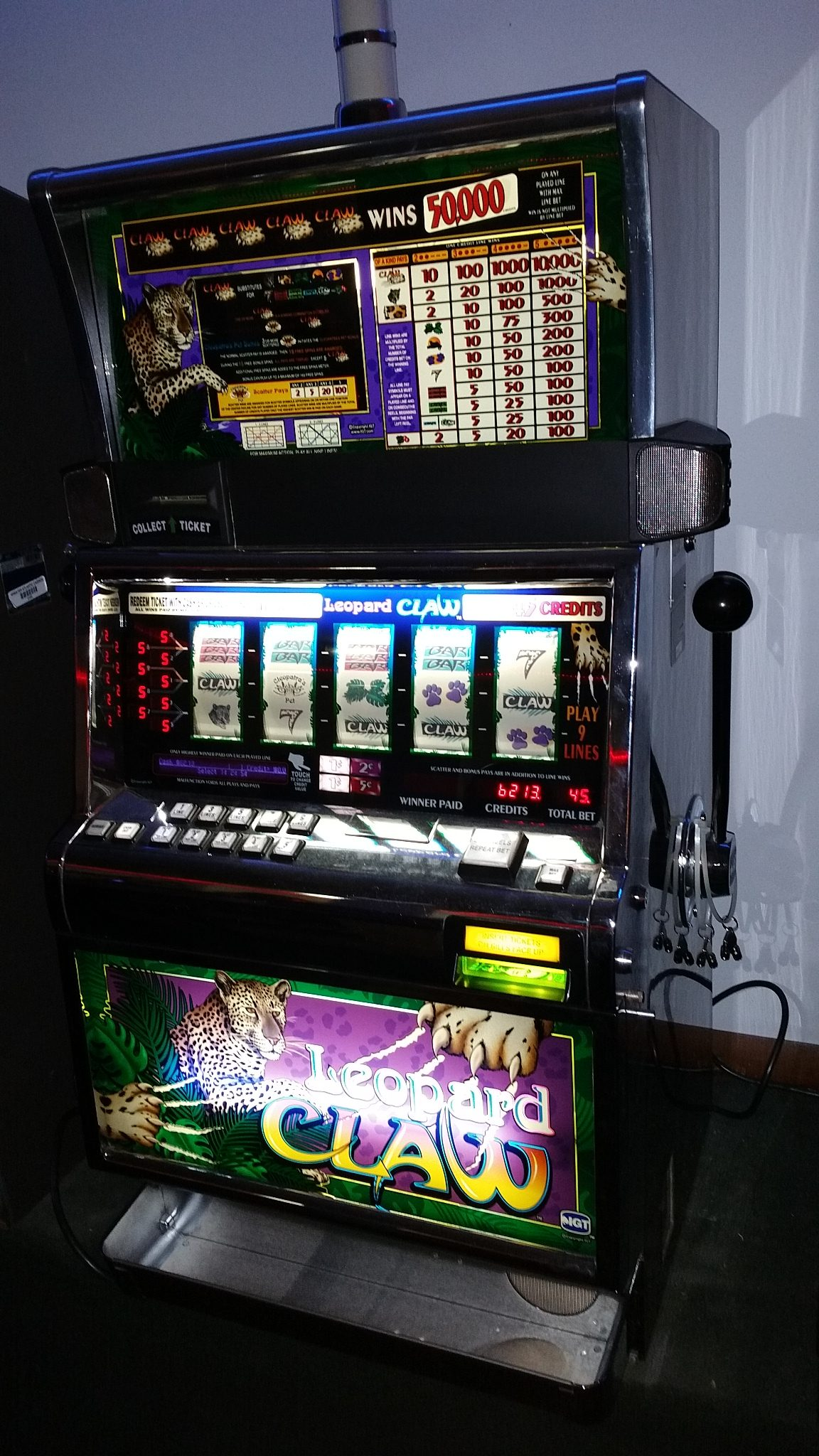 Slot Machine Odds in Las Vegas