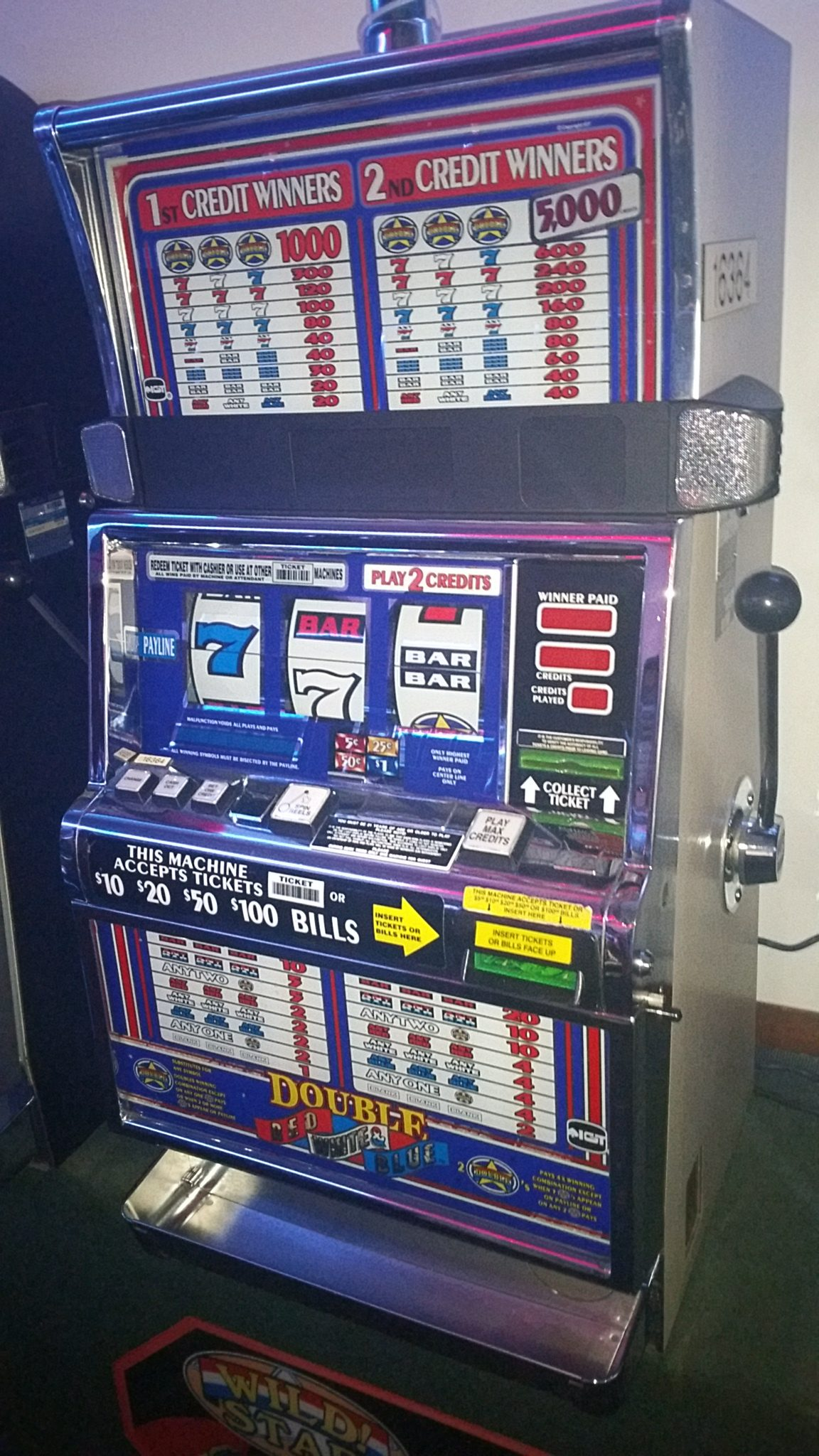 Slot for sale