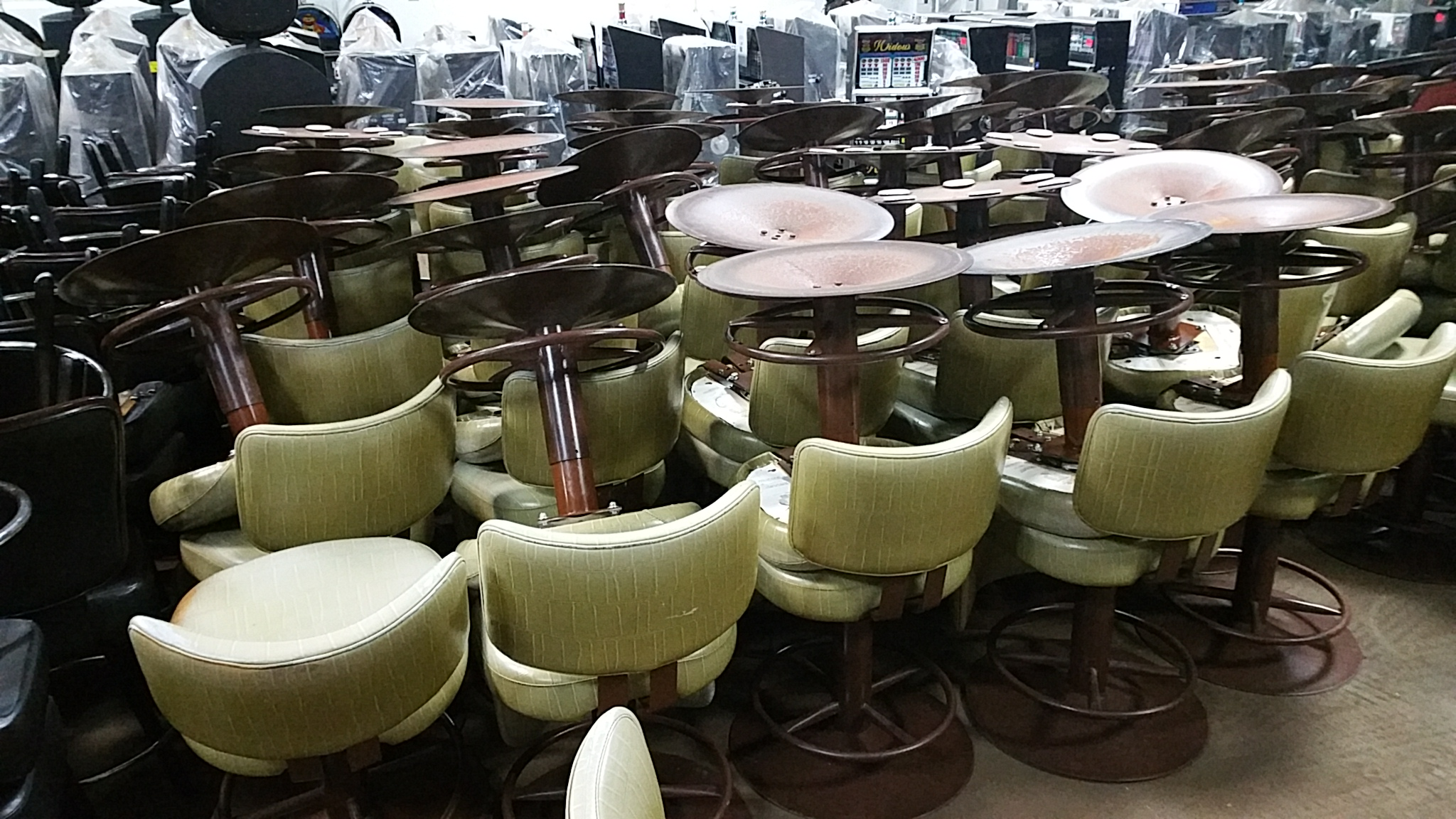 slot machine chairs for sale
