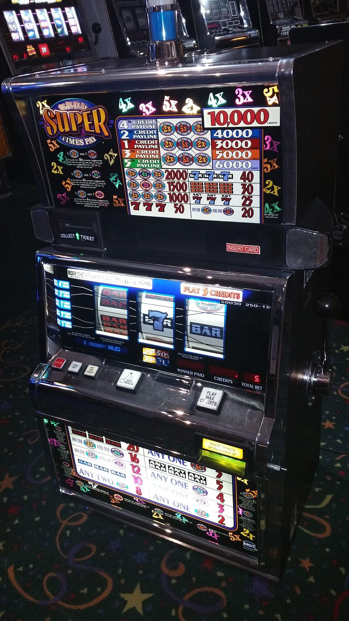 williams casino machines jackpot