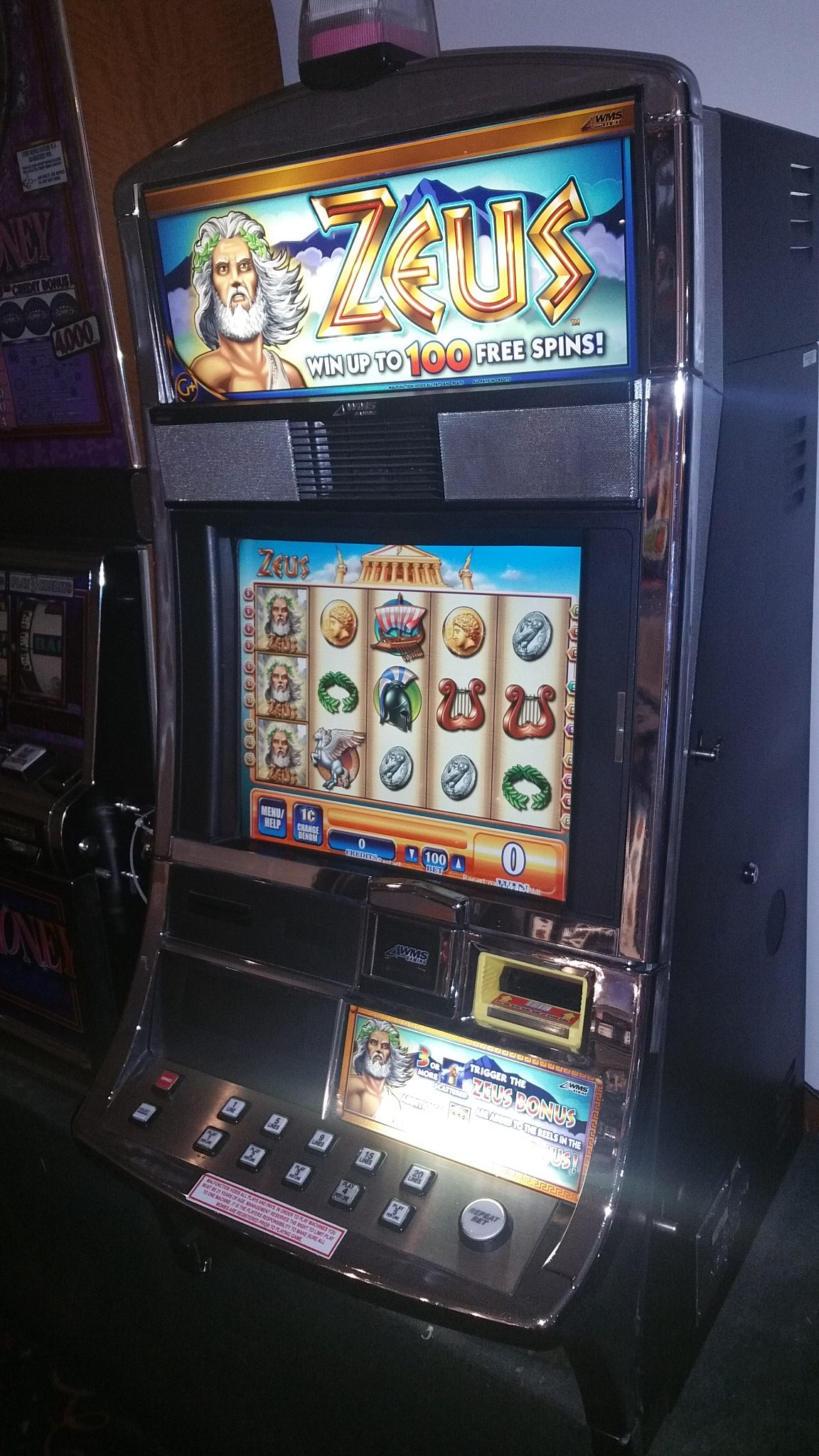 Used wms slot machines for sale