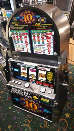 Igt S2000 Ten Times Pay 3 Coin Slot Machine Multi