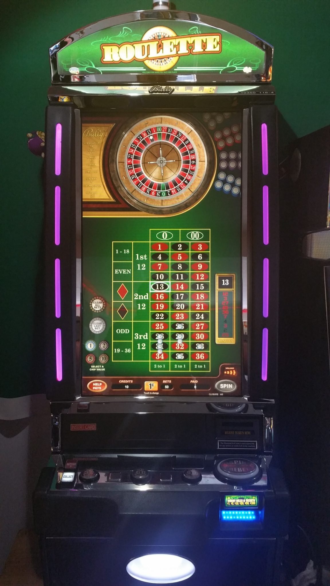 Roulette Machine For Sale