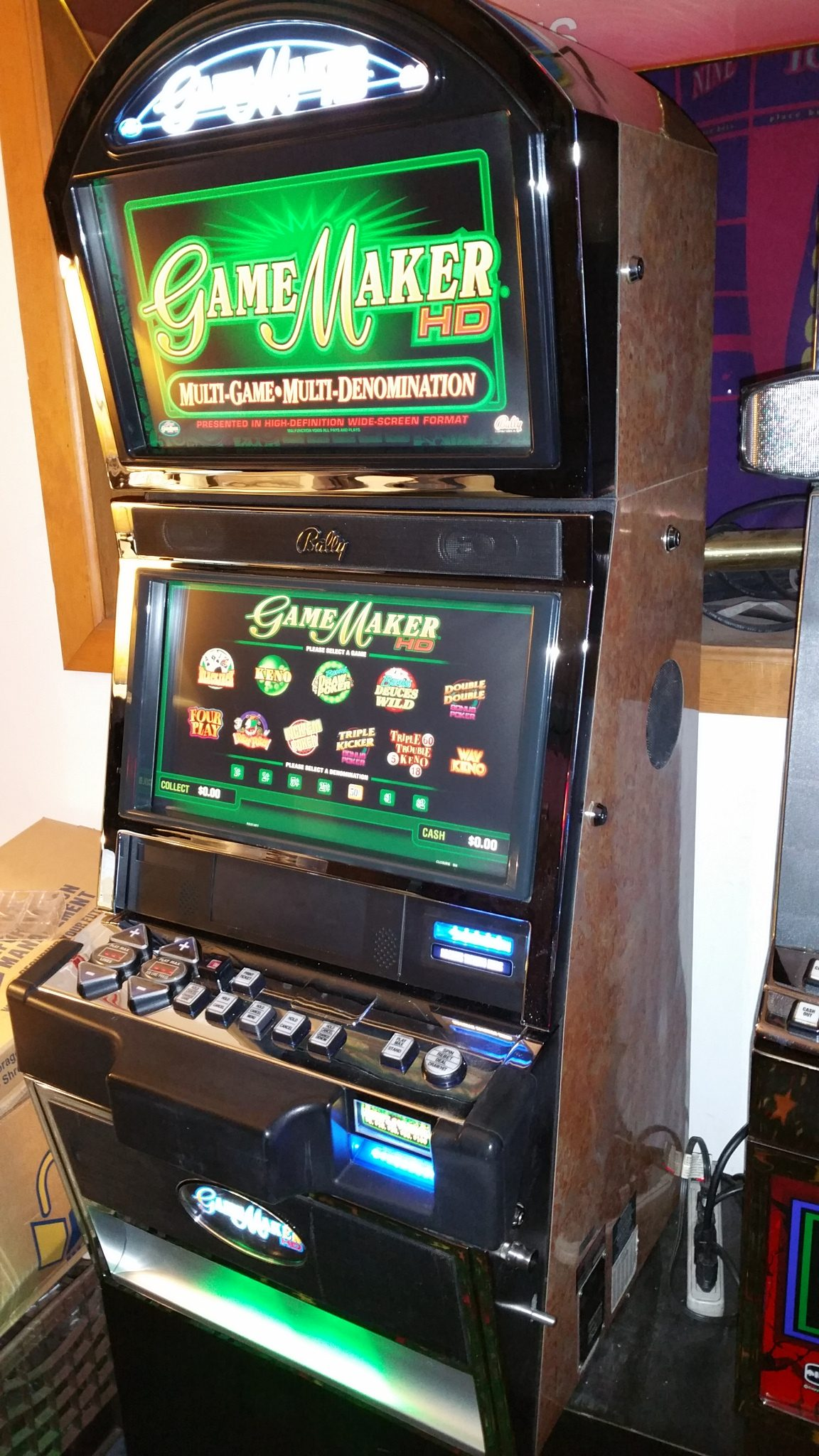 Australian Vintage Slot Machine For Sale
