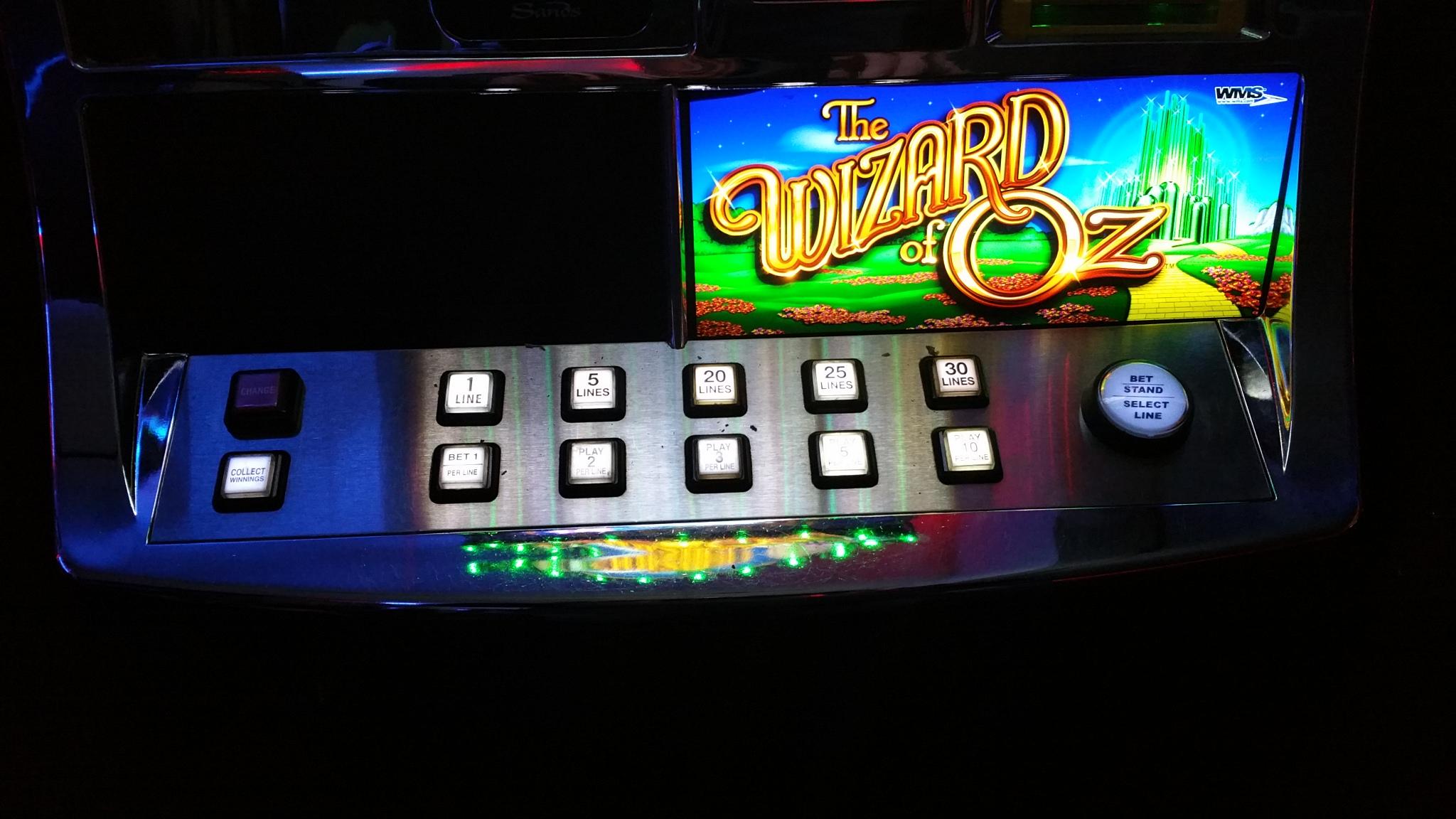 Wms The Wizard Of Oz Video Bonus Slot Slot Machines For