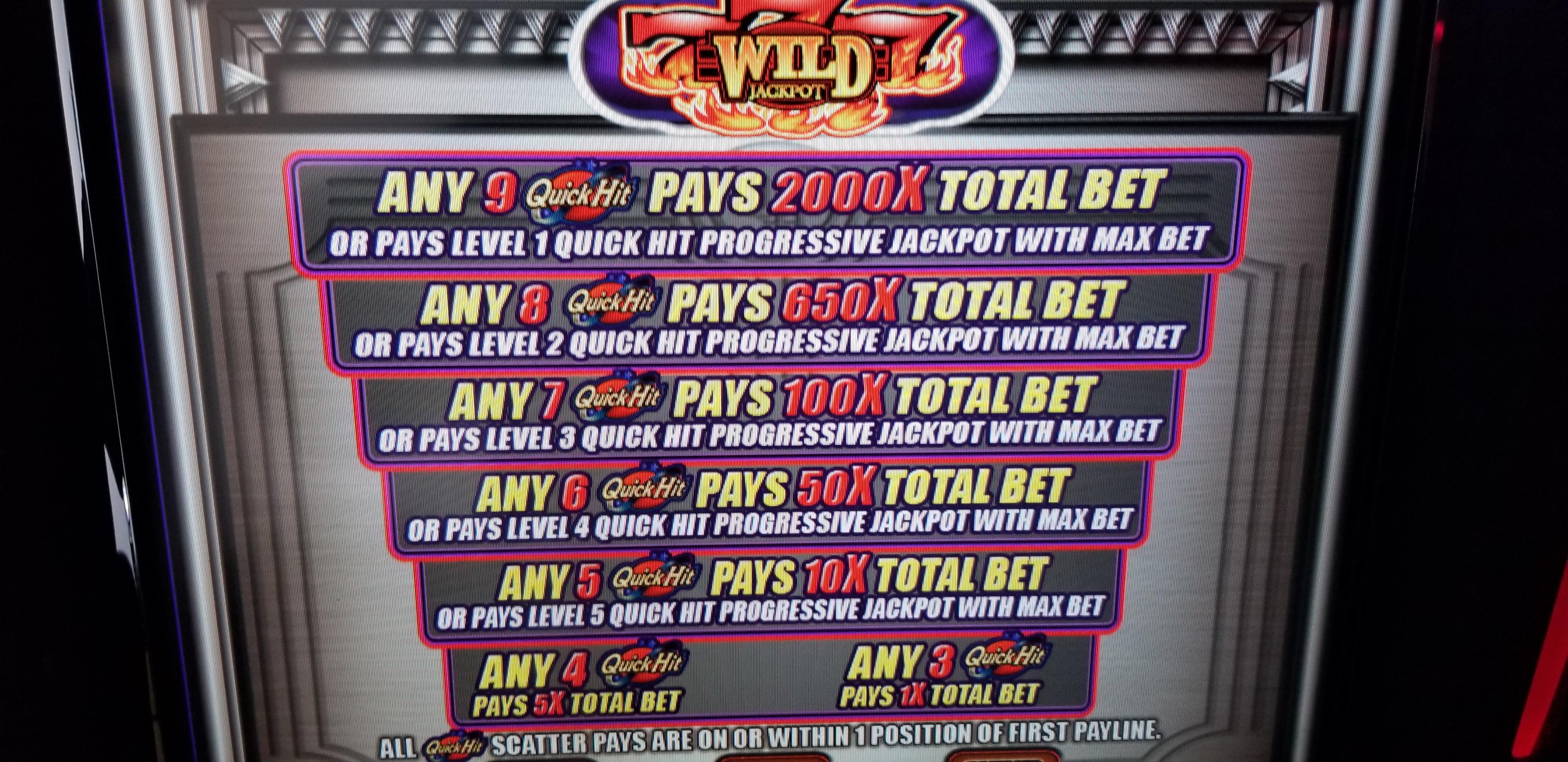 Bally V32 Platinum Quick Hits Slot Machines For Sale