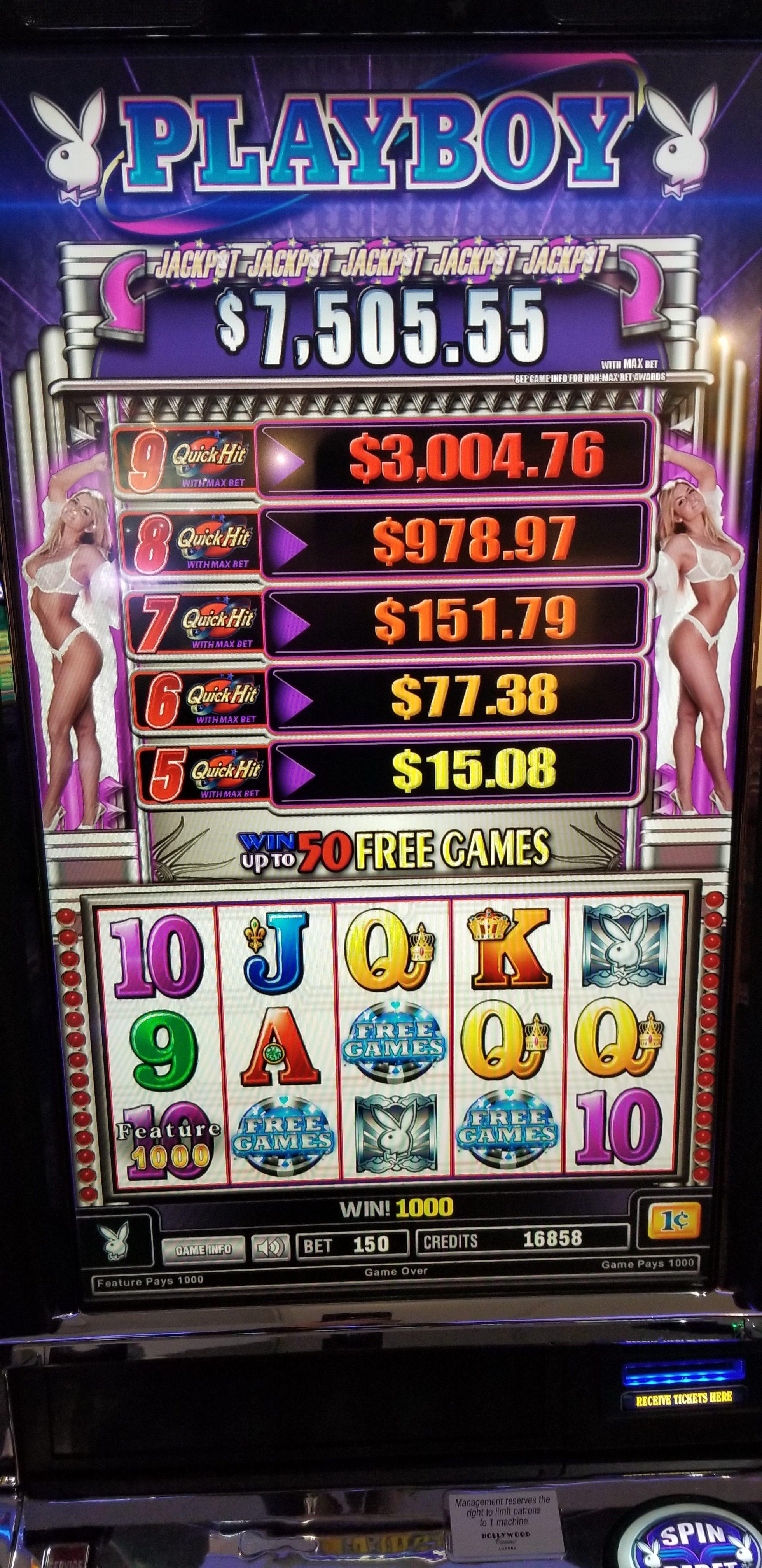 Bally V32 Playboy Platinum Quick Hits Slot Machines For