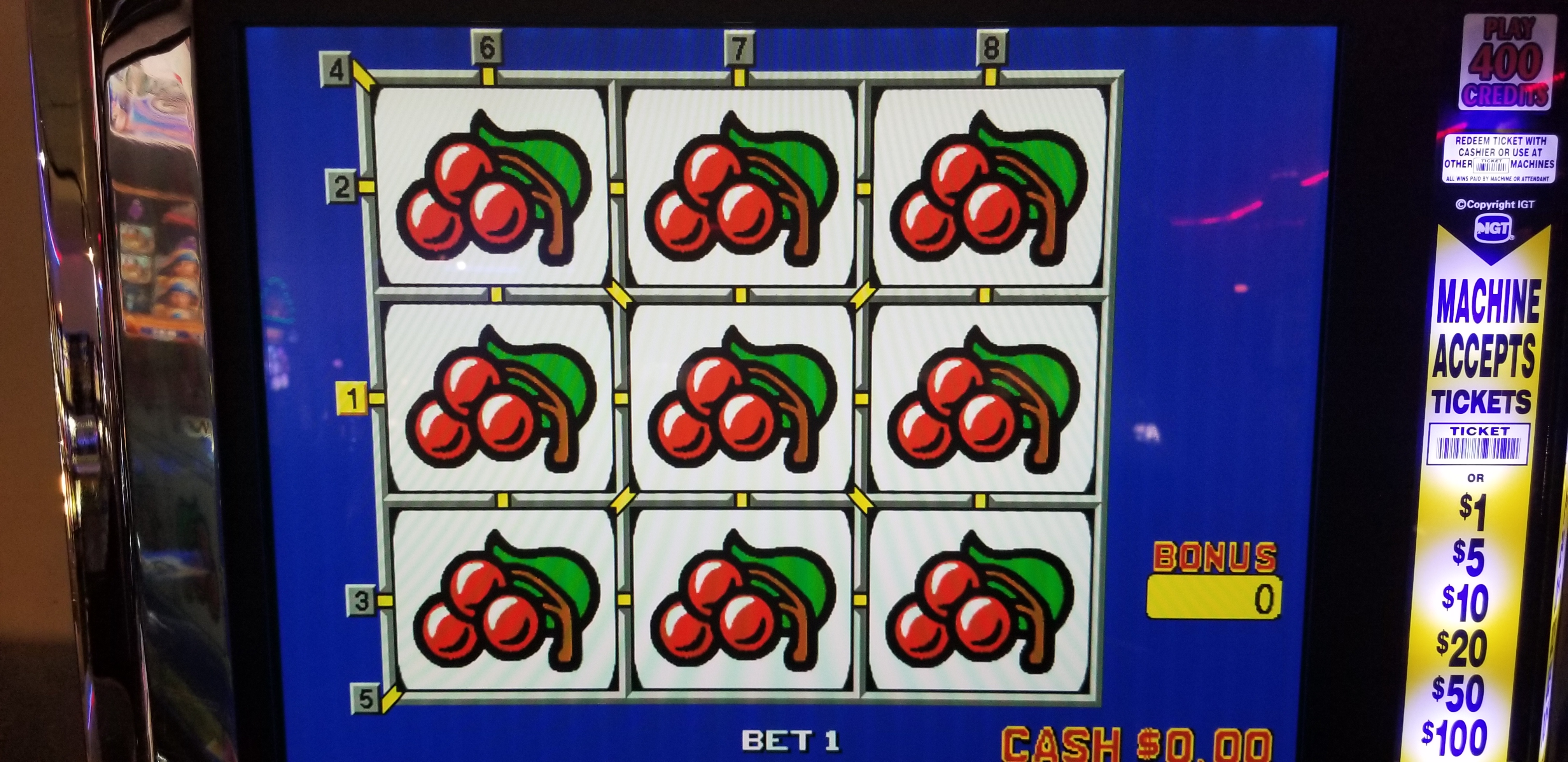 Igt Game King Multi Game 17 Quot Lcd Slot Machines For Sale