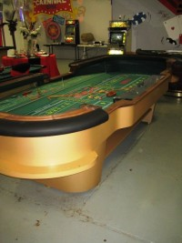 Authentic 12 ft Casino Craps Table 003