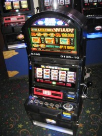 Bally Alpha 5 and Tens Times Wild Slot Machine 011