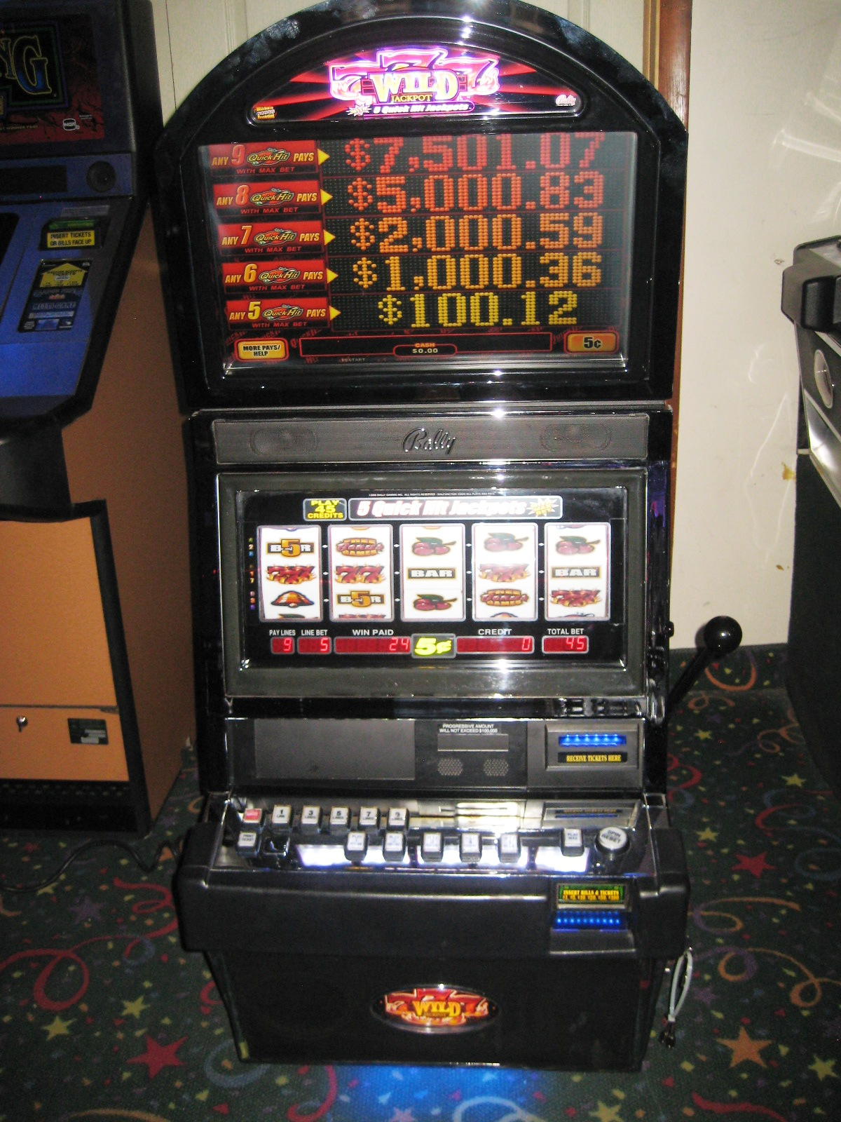 777 slot machines for sale