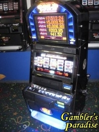 Bally Alpha Black Gold Wild Quick Hit Bonus Slot Machine 002