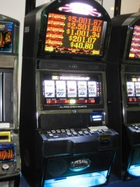 Bally Alpha Black & White Wild Quick Hits Progressive Bonus Slot 014