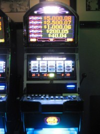 Bally Alpha Blck Gold Wild Quick Hit Bonus Slot 014
