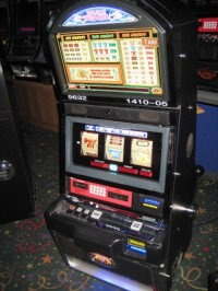 Bally Alpha Double Dragon Multi-Denom Slot Machine 3 Coin 001