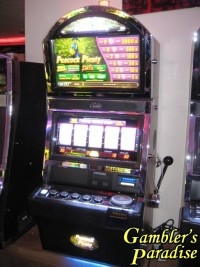 Bally Alpha Peacock Plenty Quick Hit Multiplier Slot Machine 021