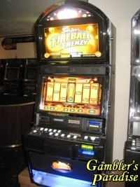 Bally Alpha Super Powerball Frenzy 50 Line Bonus Slot Machine 001