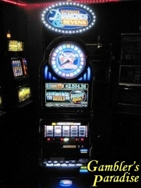 Bally Alpha Ultimate Diamonds Wheel Progressive Slot Machine 013
