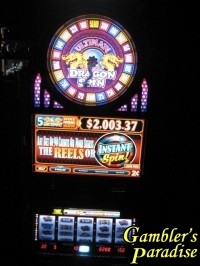 Bally Alpha Ultimed Dragon Spin Progressive Slot Machine 020