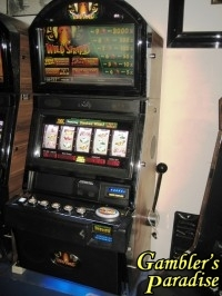 Bally Alpha Wild Stripes Bonus Qick Hit Slot Machine 063