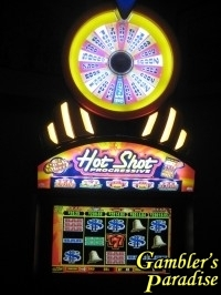Bally Cash Wheel Hot Shot Blazing 7 Video Bonus 004