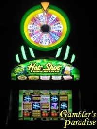 Bally Hot Shot Progressive Cash Wheel In the Money 003