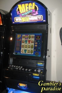 Bally Mega Winner LCD 40 Line Video Slot 001
