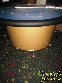 Blackjack Table Bagatelle Las Vegas Lay-out 012