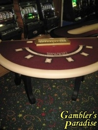 Casino BlackjackTable HIGH LIMIT Lay Out 014
