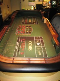 Casino Craps Table 12ft 012