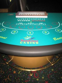 Casino Mini Baccarat Table 001